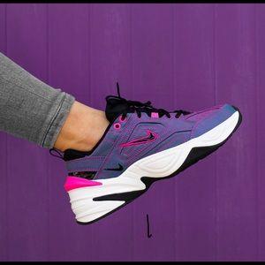 NWT new Nike M2K Tekno purple pink black white